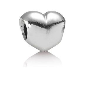 PANDORA smooth silver heart charm